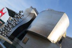 Het museum van Guggenheim in Bilbao Royalty-vrije Stock Foto's