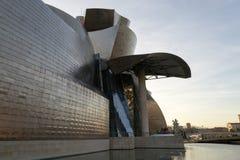 Het museum van Guggenheim in Bilbao Stock Afbeeldingen