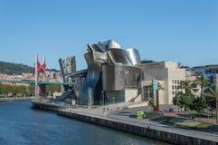 Het museum van Guggenheim in Bilbao Royalty-vrije Stock Afbeeldingen