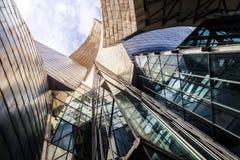 Het Museum van Guggenheim, Bilbao stock fotografie