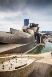 Het Museum van Guggenheim, Bilbao, Spanje stock afbeelding