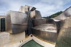 Het Museum van Guggenheim, Bilbao, Spanje royalty-vrije stock afbeelding