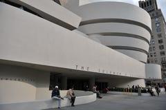 Het museum van Guggenheim, New York Stock Afbeeldingen