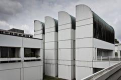 Het museum van het Archief Bauhaus van Ontwerp, in Berlijn royalty-vrije stock foto's