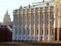 Het Museum van het Arsenaal van het Kremlin. Rusland stock afbeelding