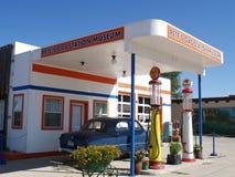 Het museum van het benzinestation Royalty-vrije Stock Foto's