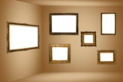 Het museum van het frame Royalty-vrije Stock Foto's