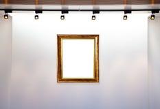 Het museum van het frame Stock Foto's