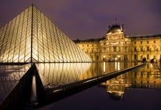 Het Museum van het Louvre Royalty-vrije Stock Afbeeldingen