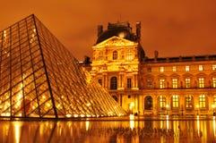 Het Museum van het Louvre Stock Fotografie