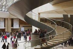 Het museum van het Louvre Stock Afbeelding