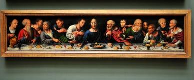 Het museum van het Louvre - Joos van Cleve - Royalty-vrije Stock Afbeelding