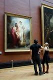 Het Museum van het Louvre, Parijs Royalty-vrije Stock Foto's