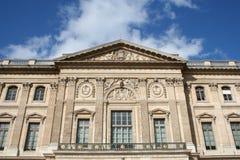 Het Museum van het Louvre in Parijs stock afbeelding