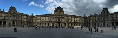 Het museum van het Louvre, Parijs, Frankrijk Royalty-vrije Stock Afbeeldingen