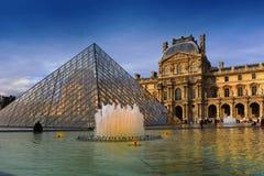 Het museum van het Louvre, Parijs, Frankrijk Royalty-vrije Stock Foto