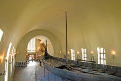 Het Museum van het Schip van Viking. Oslo. Noorwegen stock fotografie