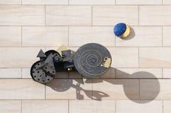 Het Museum van het stuk speelgoed, Nuremberg, Duitsland Royalty-vrije Stock Foto