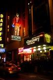Het Museum van het Times Square van de ontdekking, Manhattan, NYC stock fotografie
