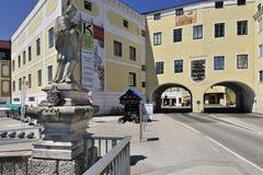 Het Museum van Kammerhof in Gmunden Stock Foto's