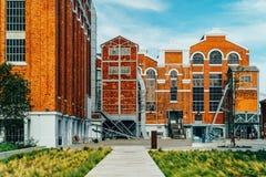 Het museum van Kunst, Architectuur en Technology Museu DE Arte, Arquitetura e Tecnologia of MAAT is een Wetenschap en een Culture royalty-vrije stock fotografie