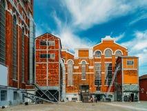 Het museum van Kunst, Architectuur en Technology Museu DE Arte, Arquitetura e Tecnologia of MAAT is een Wetenschap en een Culture royalty-vrije stock afbeelding