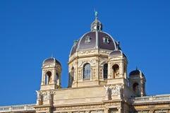 Het Museum van Kunsthistorisches in Maria-Theresien-Platz Stock Foto