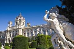 Het Museum van Kunsthistorisches, Wenen Stock Fotografie