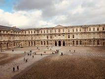 Het museum van het Louvre, Parijs, Frankrijk royalty-vrije stock afbeelding