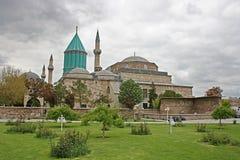 Het Museum van Mevlana, Konya royalty-vrije stock afbeeldingen