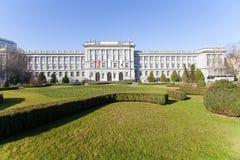 Het museum van Mimara in Zagreb Stock Foto