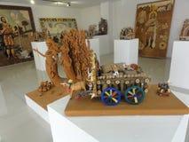 Het Museum van moderne kunst is in Chapultepec in Mexico-City stock foto