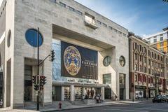 Het Museum van Montreal van Beeldende kunsten MMFA Stock Foto