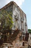 Het museum van het Naraipaleis voor mensen leert en herinnering in Thailand Royalty-vrije Stock Afbeeldingen