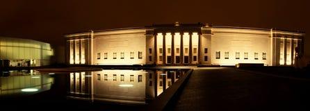 Het Museum van Nelson Atkins bij Nacht stock afbeelding