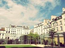 Het Museum van Parijs Picasso in openlucht Royalty-vrije Stock Foto's