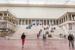 Het Museum van Pergamon in Berlijn Stock Foto