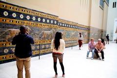 Het Museum van Pergamon in Berlijn stock fotografie