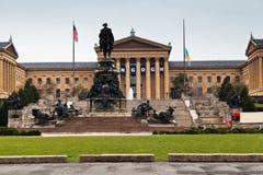 Het Museum van Philadelphia van Art. stock afbeelding