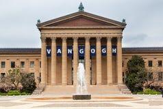 Het Museum van Philadelphia van Art. stock afbeeldingen