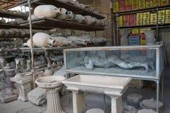 Het museum van Pompei Stock Fotografie
