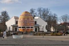 Het Museum van Pysanka in Kolomyia, de Oekraïne Royalty-vrije Stock Foto's