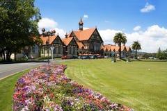 Het museum van Rotorua, Nieuw Zeeland Stock Afbeeldingen