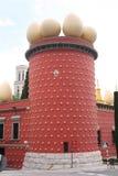 Het museum van Salvador Dali in Fugueres, Spanje Royalty-vrije Stock Foto
