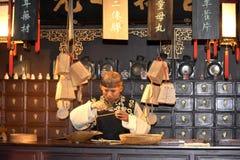 Het Museum van Shanghai, China stock fotografie