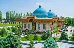 Het Museum van slachtoffers van politieke onderdrukking in Tashkent royalty-vrije stock foto's