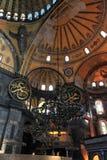 De Kerk van Sopia van Hagia, Museum, Reis Istanboel Turkije Stock Foto's