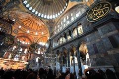 De Kerk van Sopia van Hagia, Museum, Reis Istanboel Turkije Royalty-vrije Stock Foto's