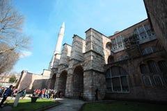 De Kerk van Sopia van Hagia, Museum, Reis Istanboel Turkije Stock Fotografie