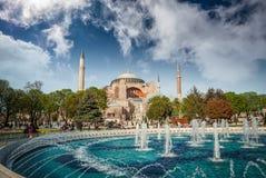 Het Museum van Sophia van Hagia, Istanboel, Turkije royalty-vrije stock fotografie